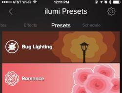 Set It & Forget it with ilumi Static Lighting Presets