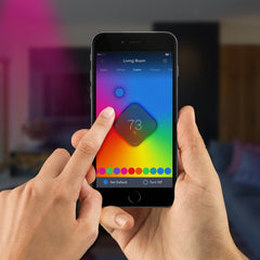ilumi smart bulb color screen iOS mobile app
