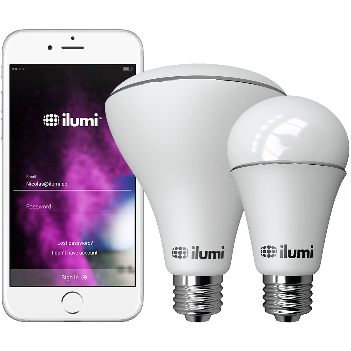 Even Though Itu0027s A Smart Light Bulb, Ilumi Is Still As Easy As Screwing In  A Normal Incandescent Bulb. No Routers, No Bridges, No Wi Fi Required, ... Gallery