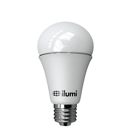 a19 color led smart light bulb with bluetooth mesh ilumi. Black Bedroom Furniture Sets. Home Design Ideas