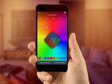 ilumi color bluetooth smart light bulb with mobile app