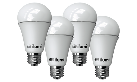 A19 LED Smart Light Bulbs | 4 Pack - smart light bulbs