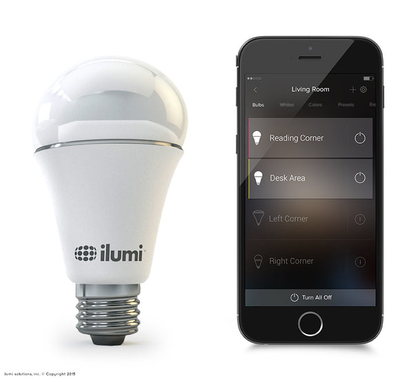 ilumi A19 Color LED Smart Light Bulb - smart light bulbs
