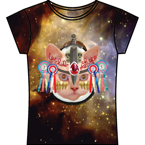 Le Club de Chats - Cosmic Girly Tee