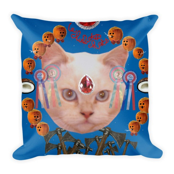 Le Club des Chats Wat, Wat, Wat Pillow