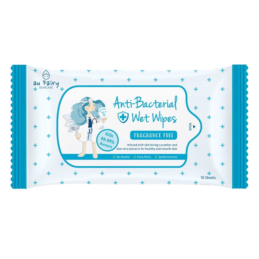 *READY STOCKS* AU FAIRY ANTI BACTERIAL WET WIPES (FRAGRANCE FREE)