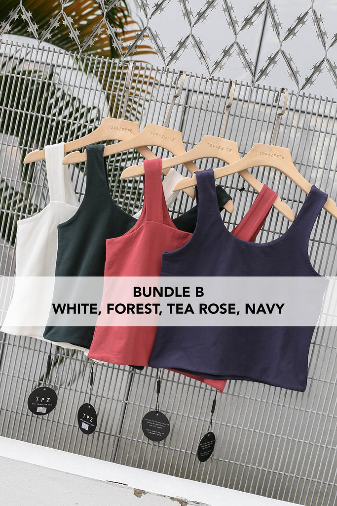 OLIVIA REVERSIBLE BASIC TOP (BUNDLE B)