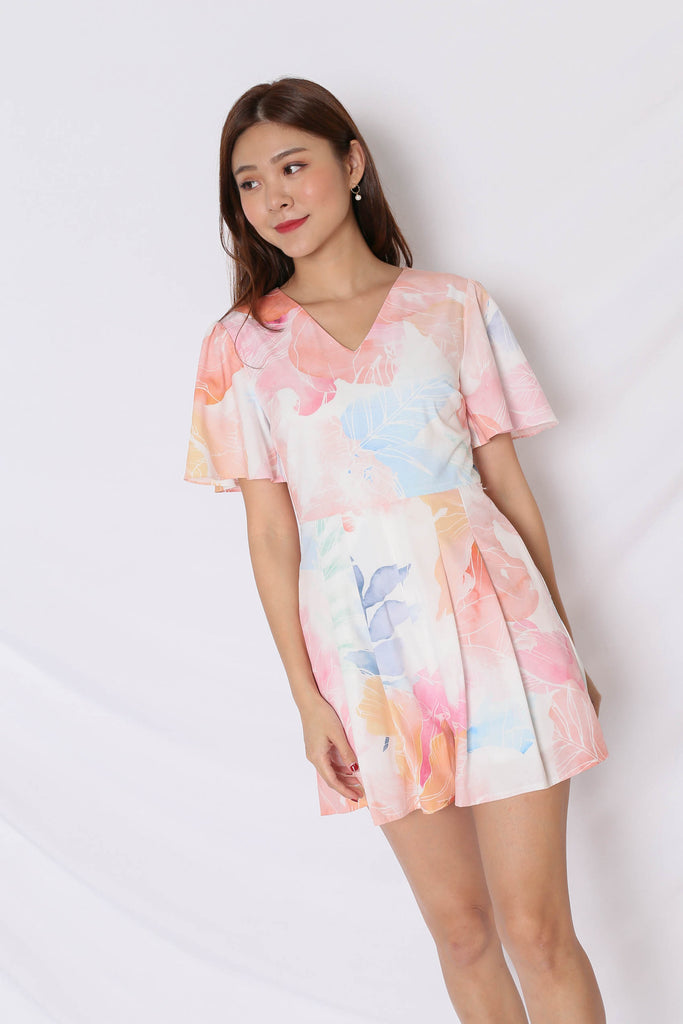 (PREMIUM) SPRING BLOOM ROMPER