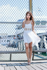 METADOR DRESS IN WHITE