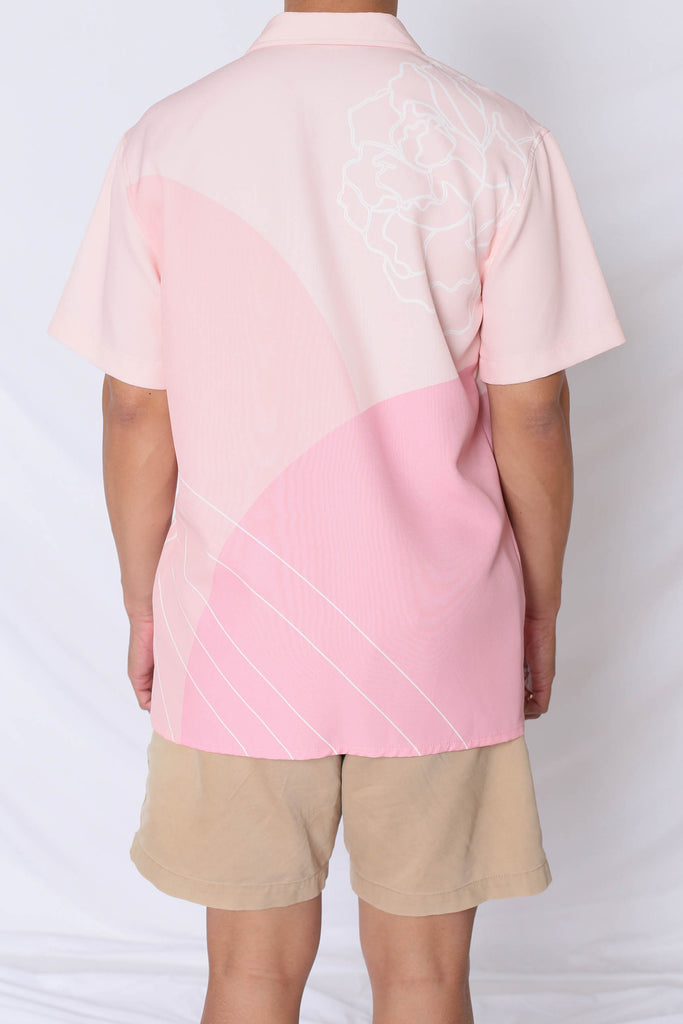 (PREMIUM) REUNION UNISEX SHIRT IN PINK - TOPAZETTE