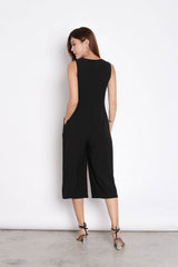 (PREMIUM) OVA JUMPSUIT IN BLACK