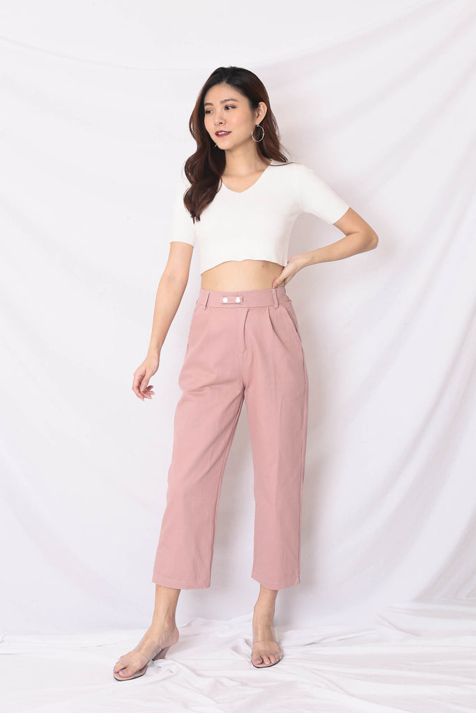 LUNA CARGO PANTS IN PINK