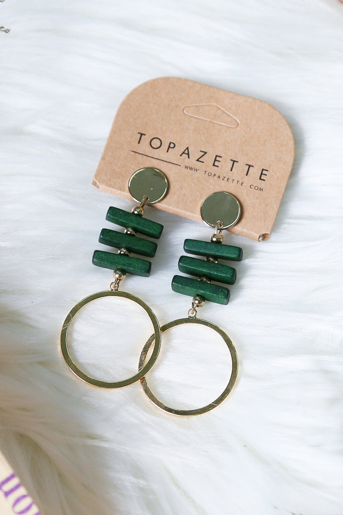 ISABEL EARRINGS - TOPAZETTE