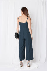 *TPZ* (PREMIUM) CAYLA JUMPSUIT IN FOREST