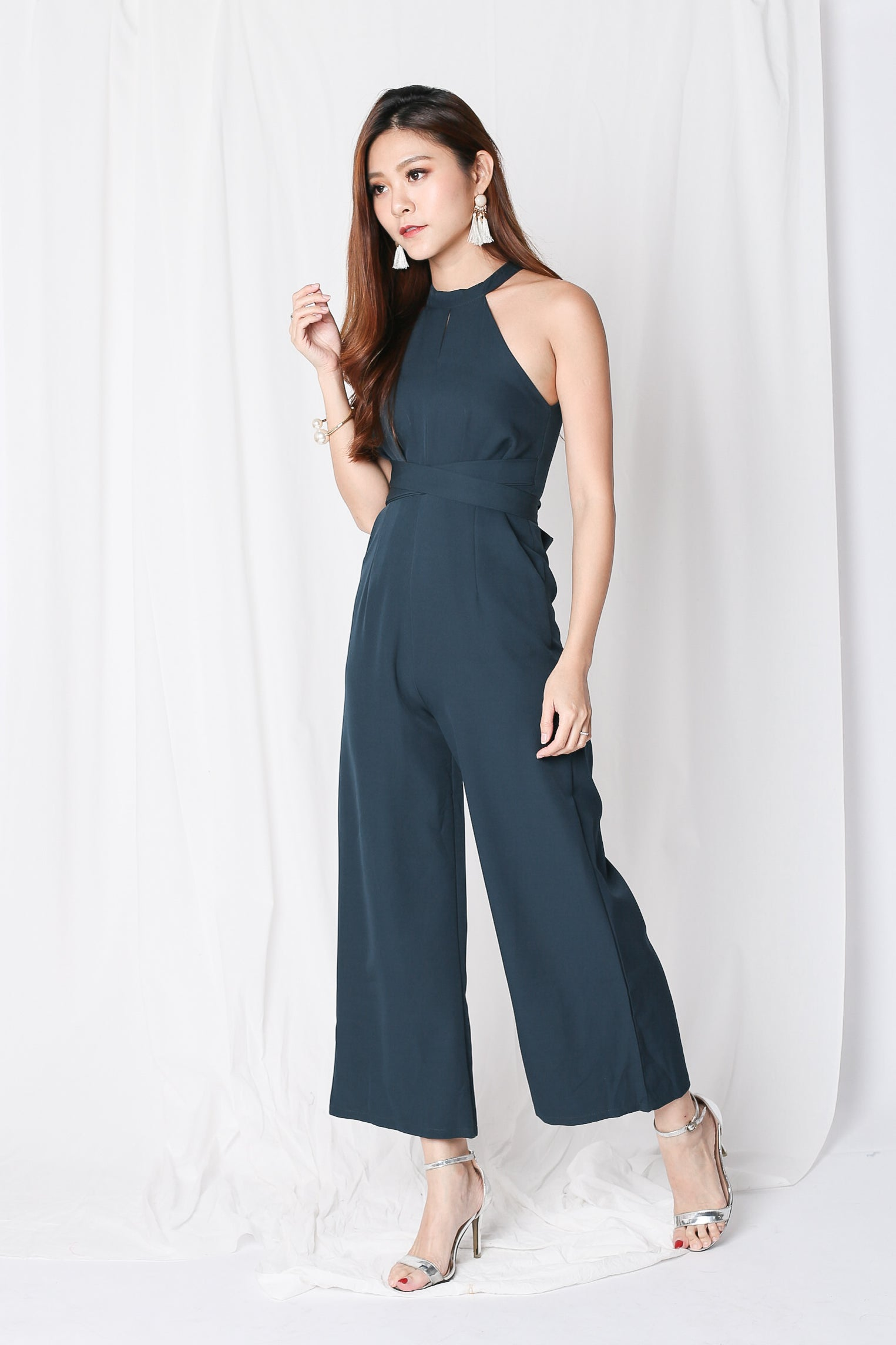 *TPZ* (PREMIUM) TYLA ENCHANTED JUMPSUIT IN FOREST