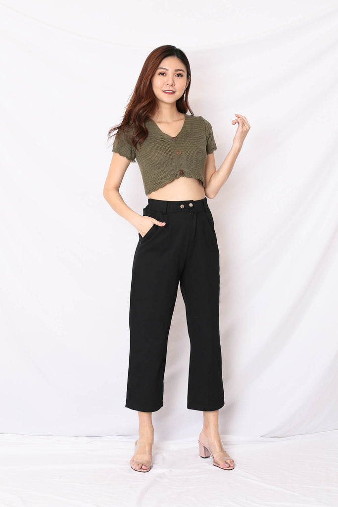 LUNA CARGO PANTS IN BLACK