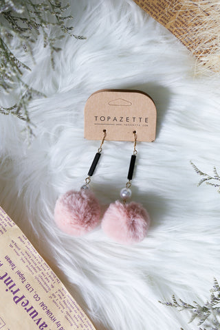 VALENT FUR EARRINGS