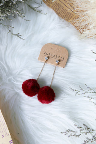 EFFIE FUR EARRINGS