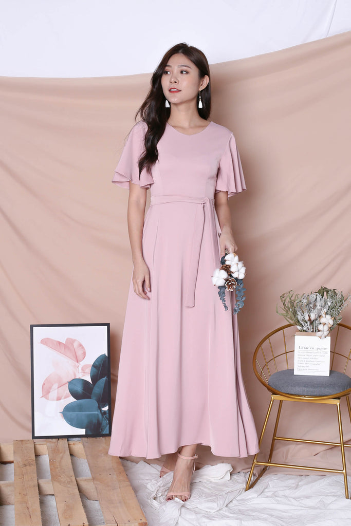 *TPZ* (PREMIUM) EVANA MAXI IN DUSTY PINK