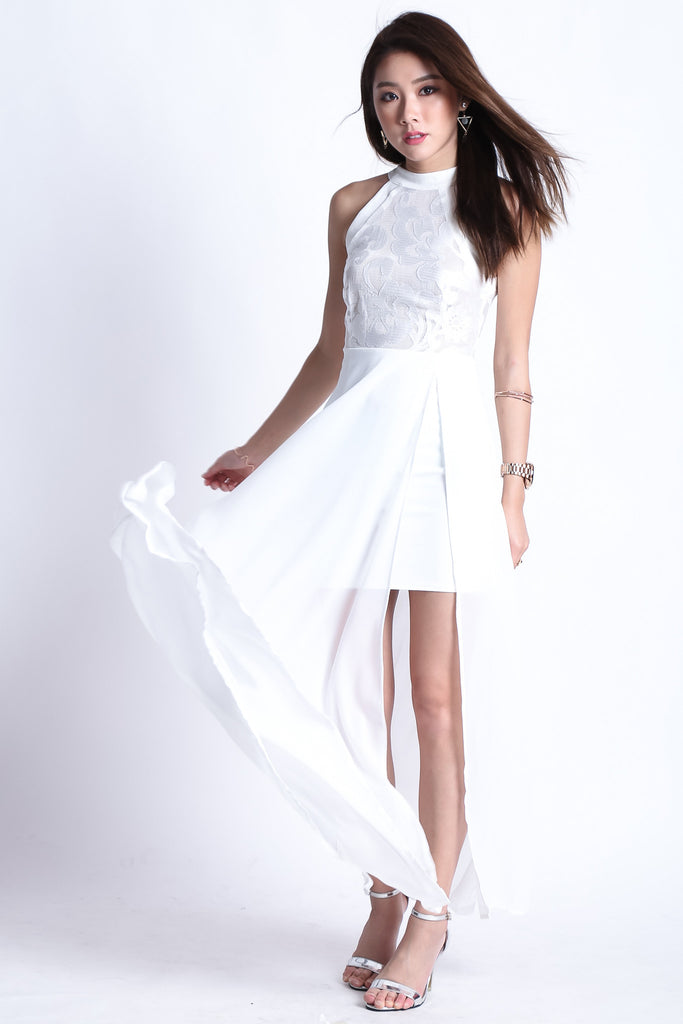 (RESTOCKED) *TOPAZ* (PREMIUM) TWILIGHT MAXI IN WHITE - TOPAZETTE