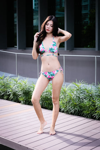 SUMMER TIMES BIKINI SET (FRUITY MELON)