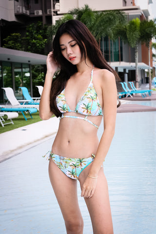 *RESTOCKED* SUMMER TIMES BIKINI SET (TROPICAL)