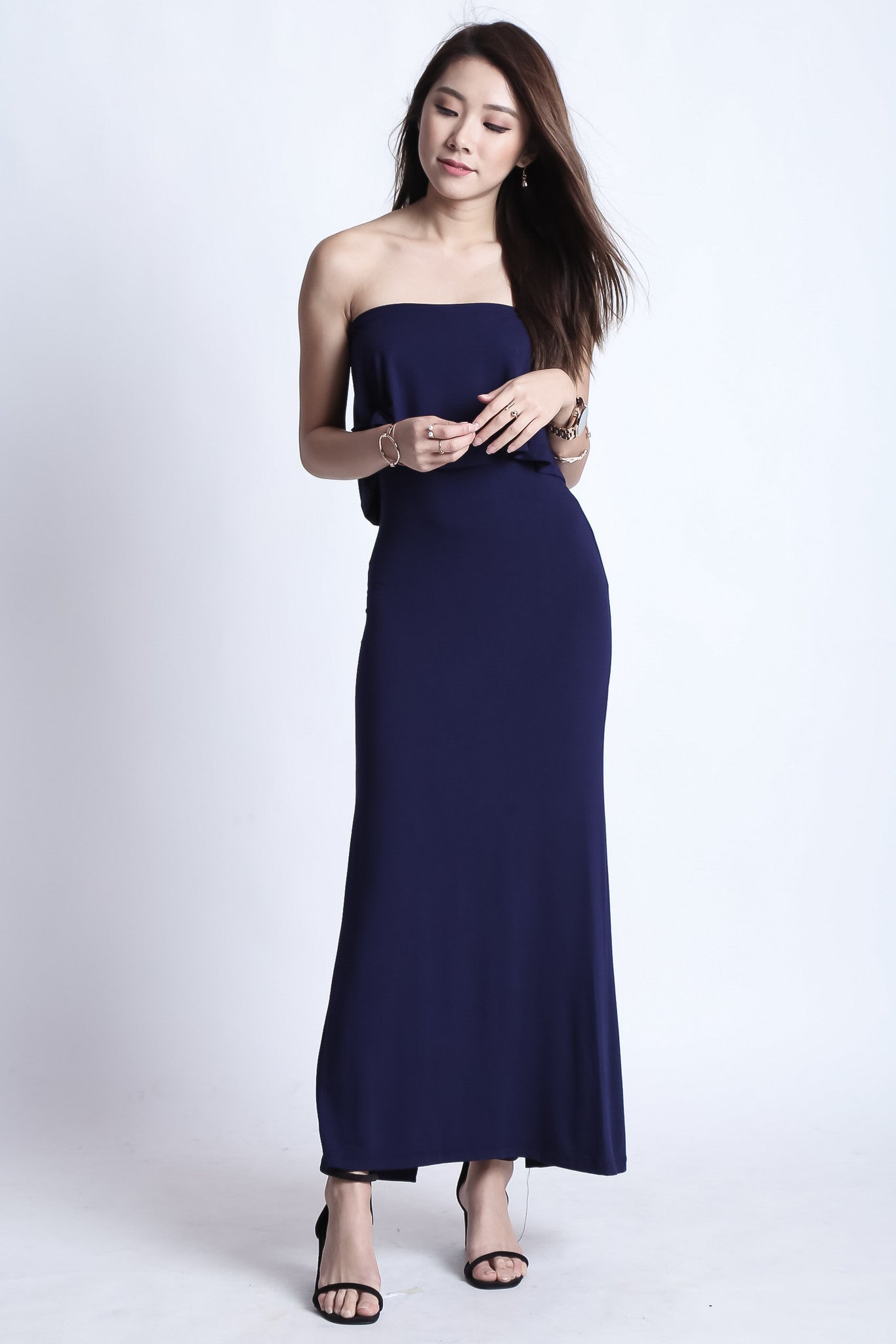 *BACKORDER* DATE OUT MAXI IN NAVY - TOPAZETTE