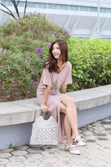 *BACKORDER* JORDYN SLIT MAXI IN TAUPE