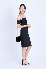 *PREMIUM* KINSLEY DRESS IN BLACK