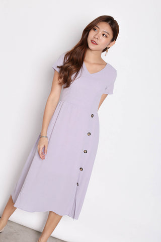 *TPZ* (PREMIUM) NYSSE DRESS IN DUSTY LILAC