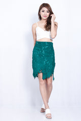 TAKE A LEAF CROCHET SKIRT IN FOREST