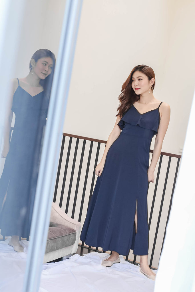 *TPZ* (PREMIUM) MAIZIE MAXI DRESS IN NAVY