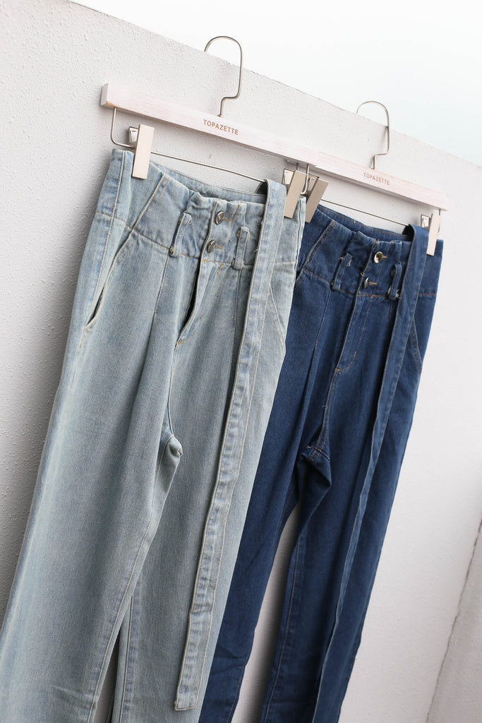 *TPZ* (PREMIUM) GO GETTER JEANS IN LIGHT WASH