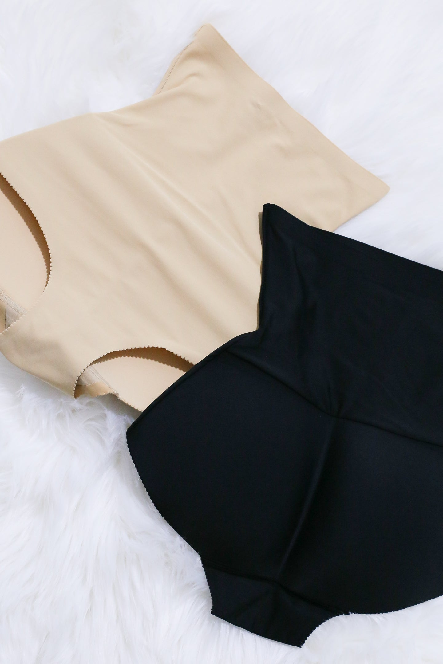 *RESTOCKED* HOURGLASS SEAMLESS TUMMY TUCKER + BOOTY BOOSTER (BLACK/ NUDE)