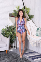 OFF SHORE MONOKINI (PURPLE PALMS)