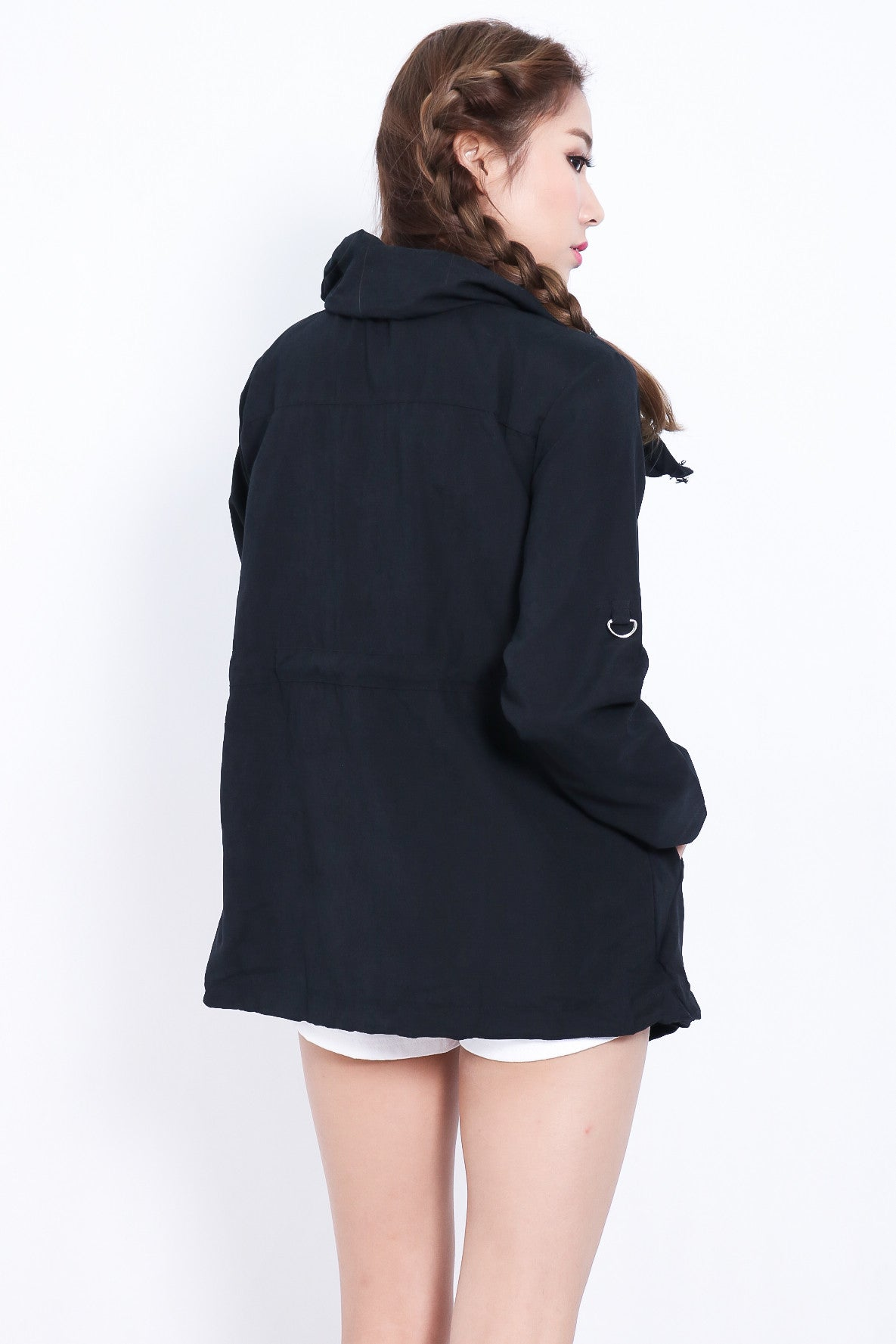 (RESTOCKED) EVERYDAY PARKA IN BLACK - TOPAZETTE