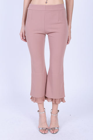 HILARYS PLEATS PANTS IN DUSTY PINK