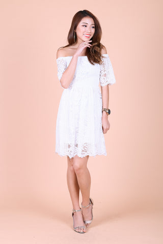 c013608945d  TPZ  (PREMIUM) CROCHET DREAMS DRESS IN WHITE
