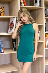 EMBERLY DRESS IN FOREST