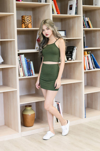 3d4639ebeff7b ZYRA OFF DUTY 2 PC SET IN OLIVE