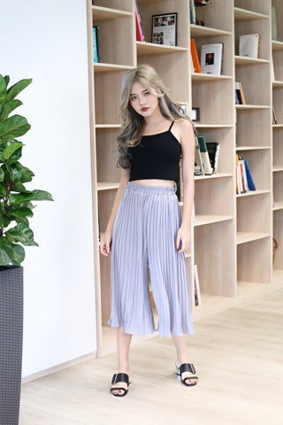 ERR DAY PLEATED CULOTTES IN GREY