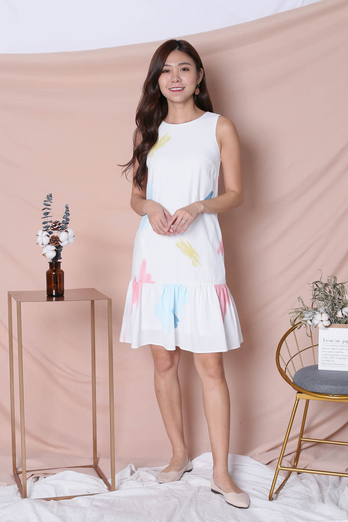 *TPZ* (PREMIUM) KAILA DRESS IN WHITE