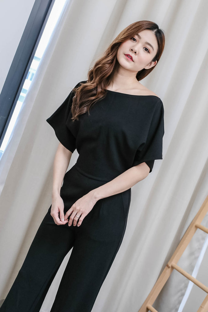 *TPZ* (PREMIUM) FAY MULTIWAY JUMPSUIT IN BLACK