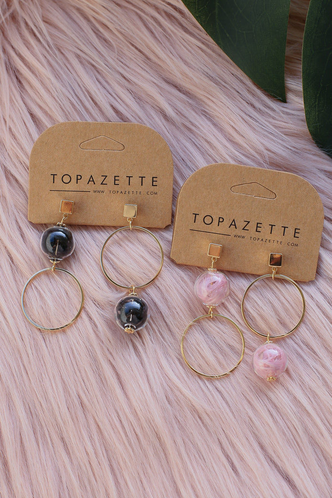 BRYN EARRINGS - TOPAZETTE