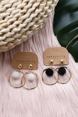 ZOELLA FUR EARRINGS