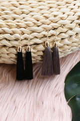 *RESTOCKED* CLASSIC TASSEL EARRINGS