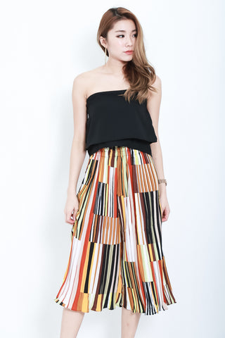 PRINTED WIDE LEG CULOTTES VERSION 1