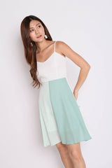 *TPZ* (PREMIUM) ALYCIA COLOURBLOCK DRESS (TEAM MINT)