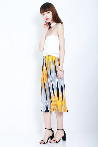 PRINTED WIDE LEG CULOTTES VERSION 2