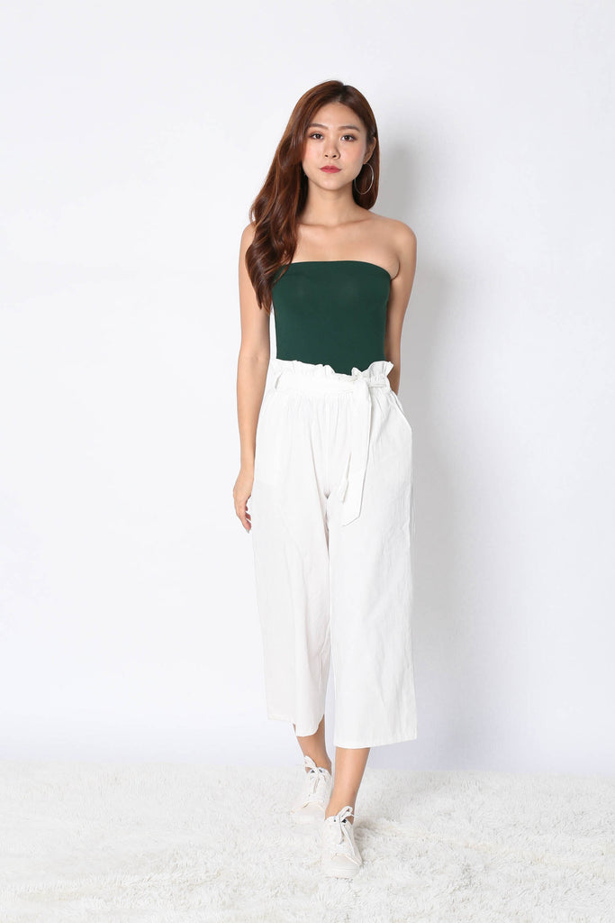 THE VERY BASIC TUBE TOP IN FOREST - TOPAZETTE